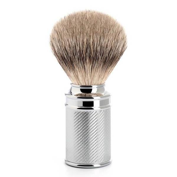 Bilde av Mühle Traditional Silvertip barberkost Krom