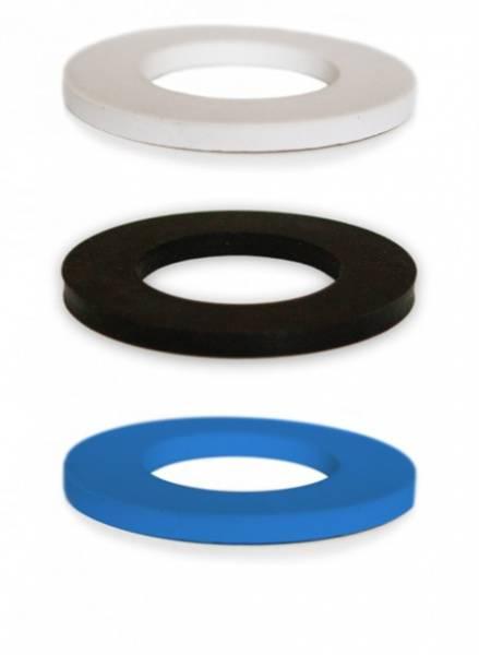 Bilde av Gummiringer til Soulbottles, 3-pakning, blå/hvit/svart
