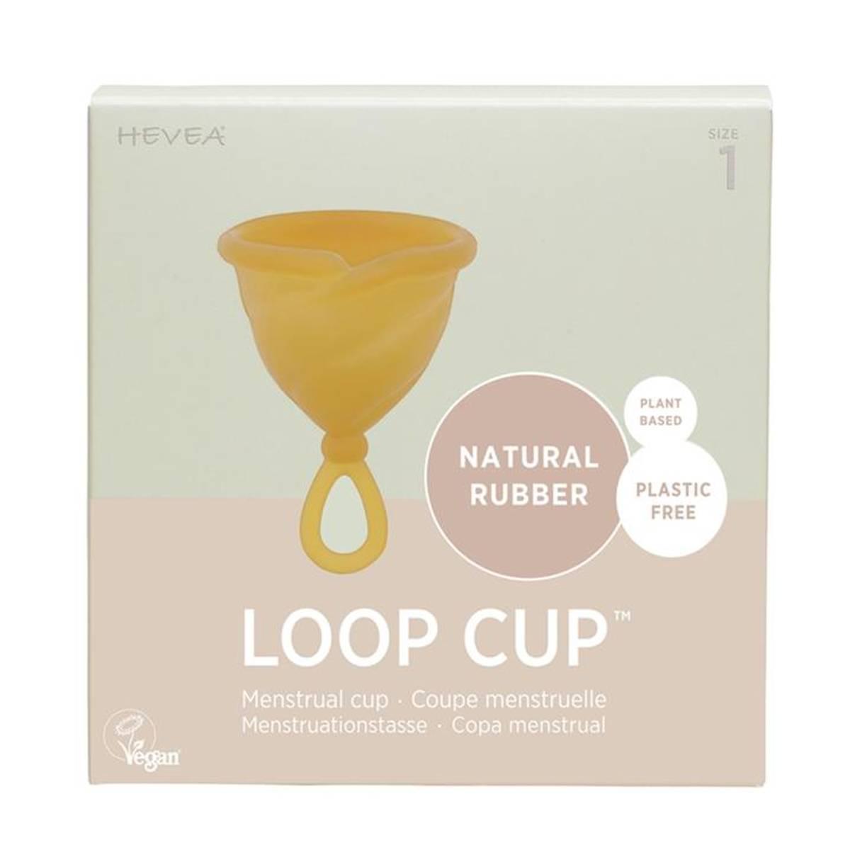 LOOP CUP str.1, menskopp i naturgummi / Hevea