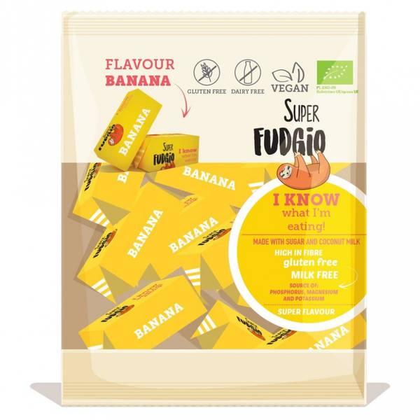 Bilde av Karameller Banana 150g, Super Fudgio