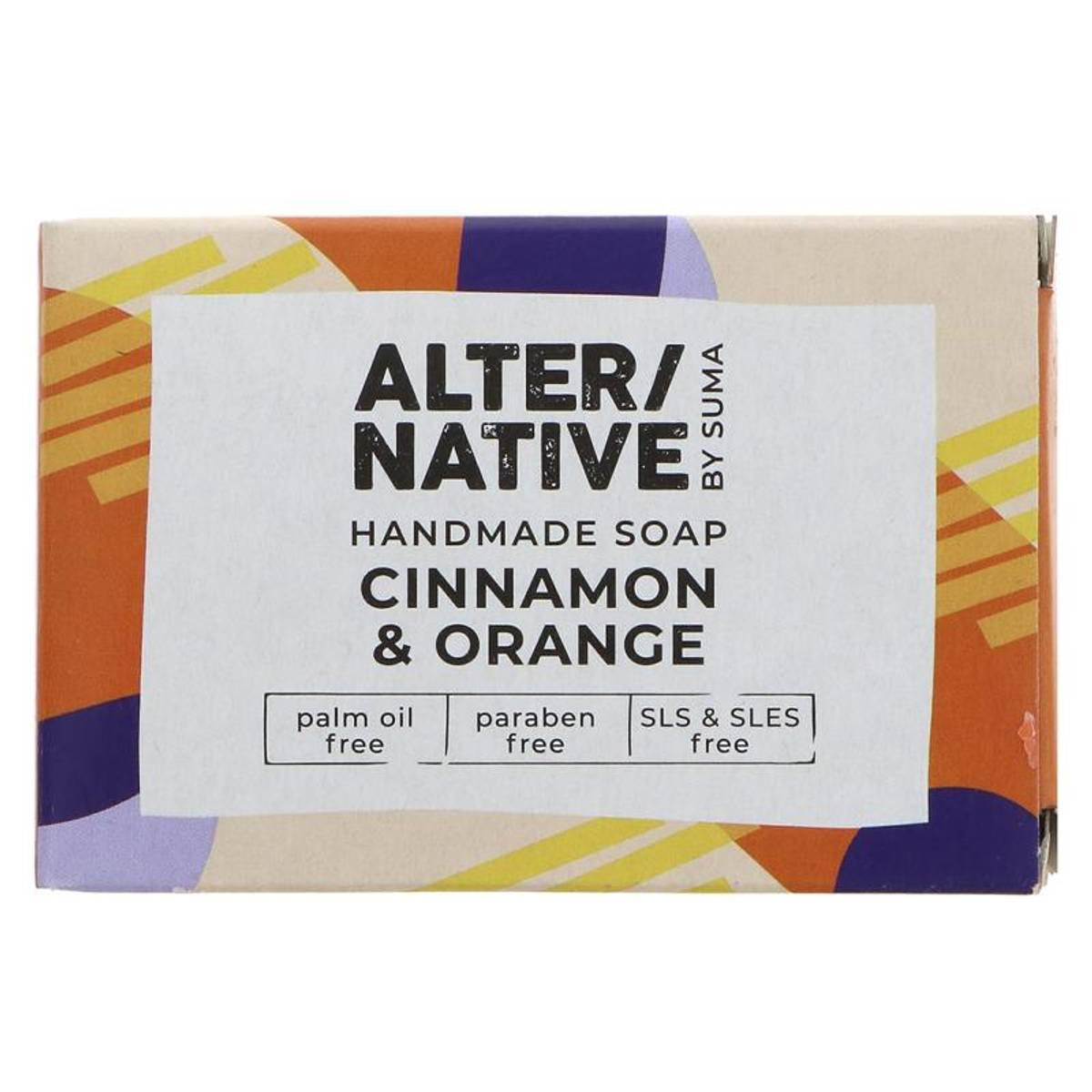 Såpestykke Cinnamon & Orange 95g / Alter/native