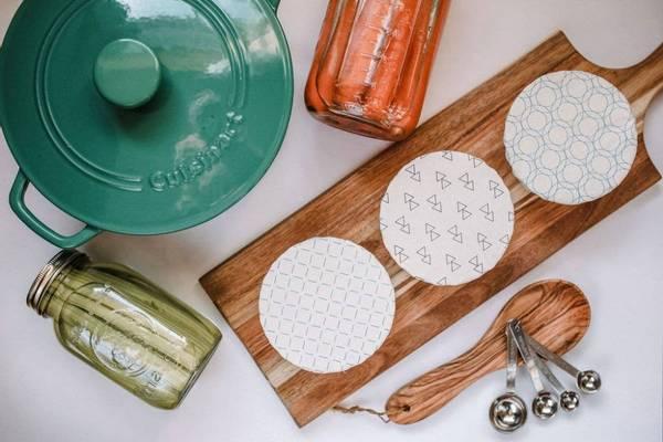 Bilde av 3-pk XS bolletrekk Geometric / Your Green Kitchen