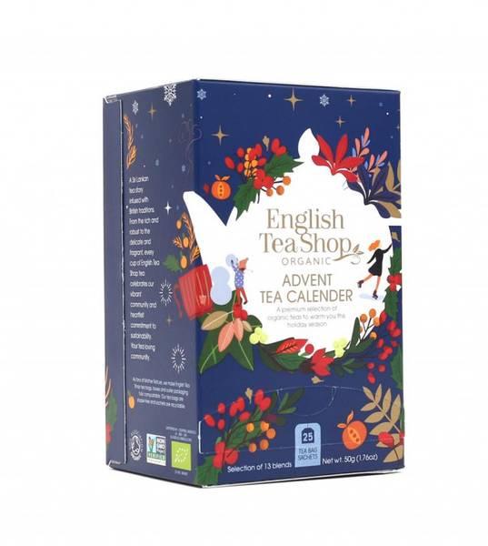 Bilde av Tekalender i tepakke med 13 smaker / English Tea Shop