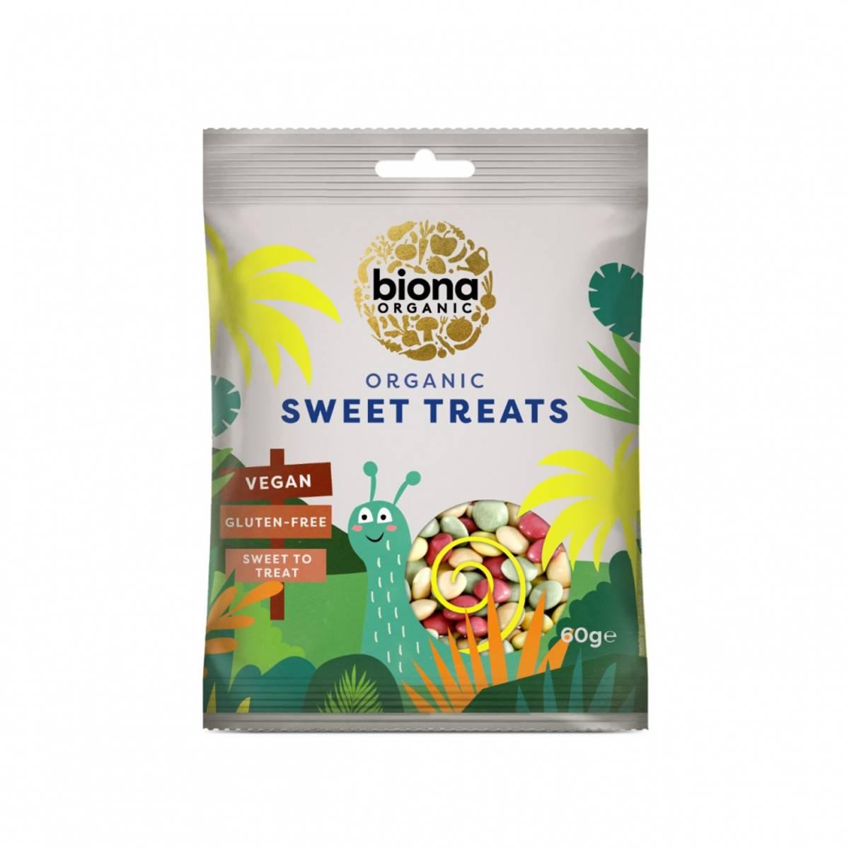 Sjokoladedrops, Sweet Treats 60 g / Biona Organic