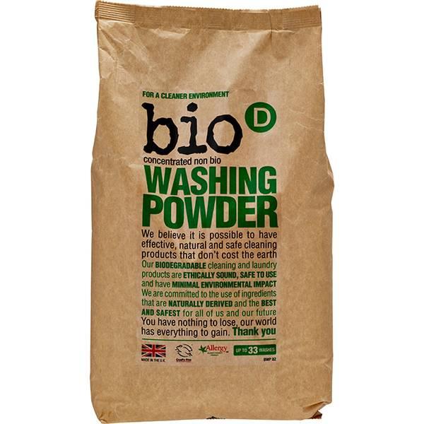 Bilde av 2 kg Naturlig vaskepulver til klær / Bio-D