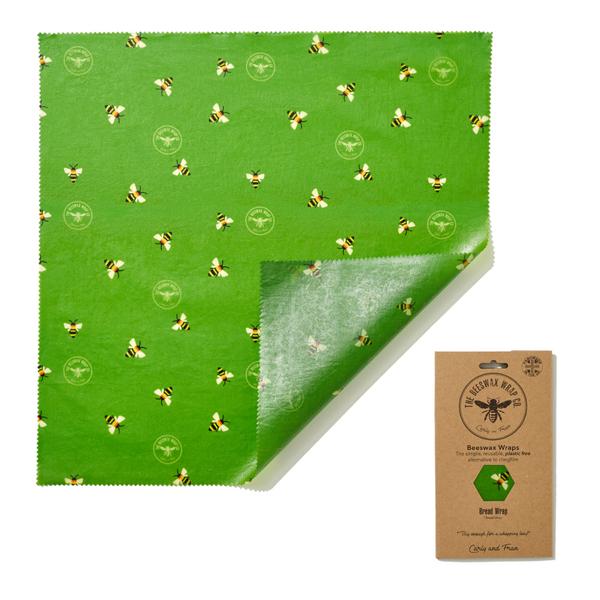 Bilde av 1 stk str. XL bivoksark brød 50x50cm // Serious Beesness
