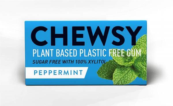 Bilde av 10 stk naturlig tyggis, Peppermint  / Chewsy