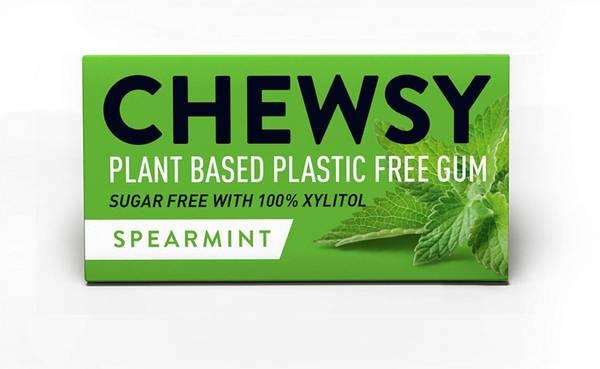 Bilde av 10 stk naturlig tyggis, Spearmint  / Chewsy