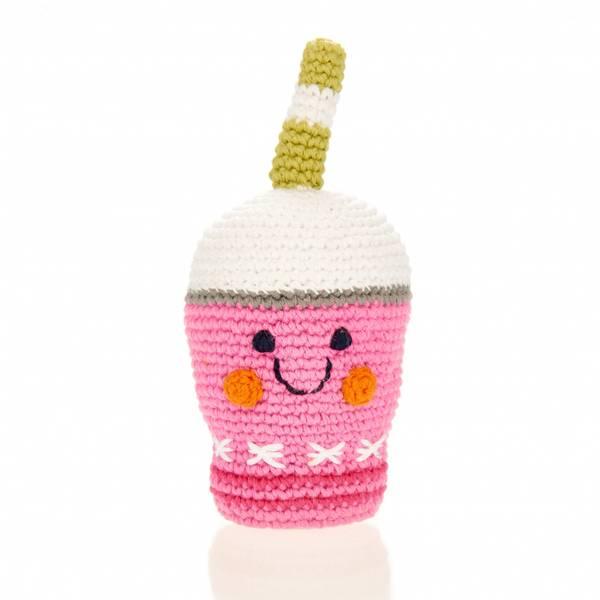Bilde av Babyrangle Friendly Strawberry Milkshake / Pebble - Best Years