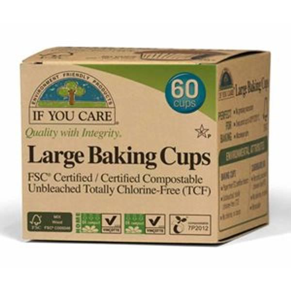 Bilde av 60 stk store muffinsformer / If You Care