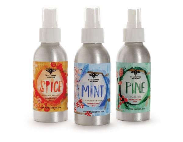 Bilde av PINE duftspray med eteriske oljer, Furu & Gran, 11