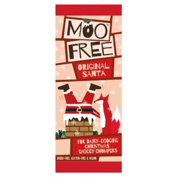 Bilde av Sjokoladenisse 32g, melkefri / Moo Free Chocolates