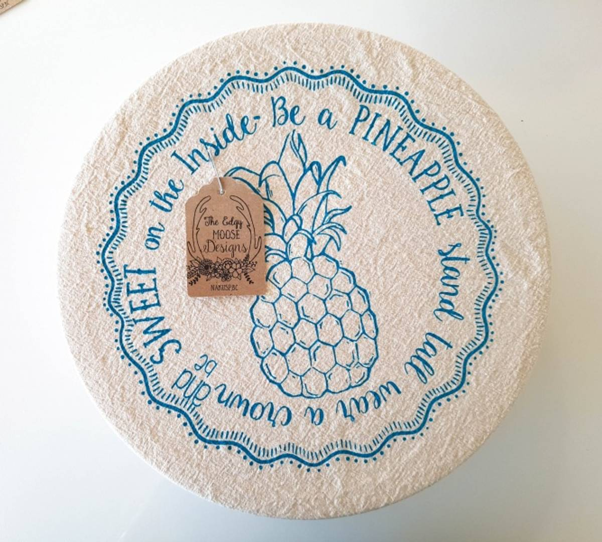 Bolletrekk str. M // Pineapple